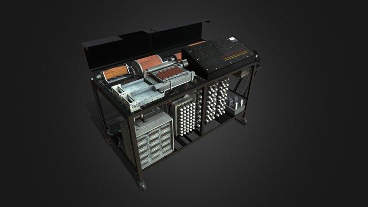 Atanasoff-Berry Computer 3D Model