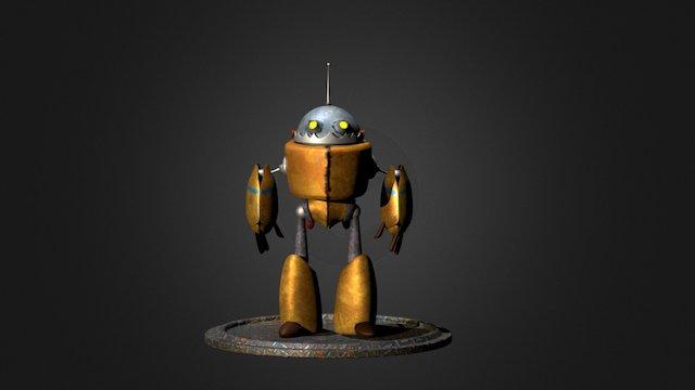 CuteBot 3D Model