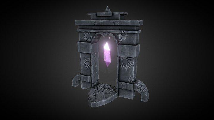 Crystal Portal 3D Model