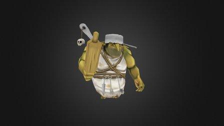 Cook Goblin 3D Model