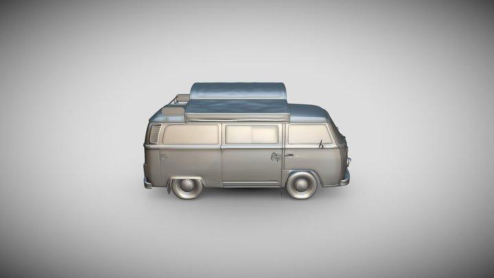 Volkswagon Coffee Van 3D Model