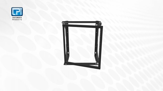 CPI_EasySwing Wall- Mount Rack_Sketchfab3d 3D Model