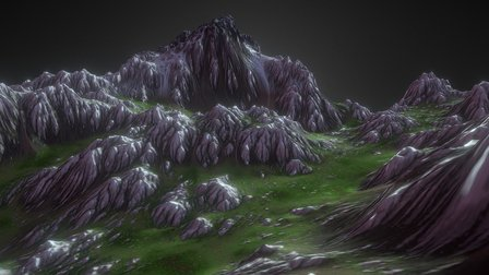 Ridge Illustration 3D Model
