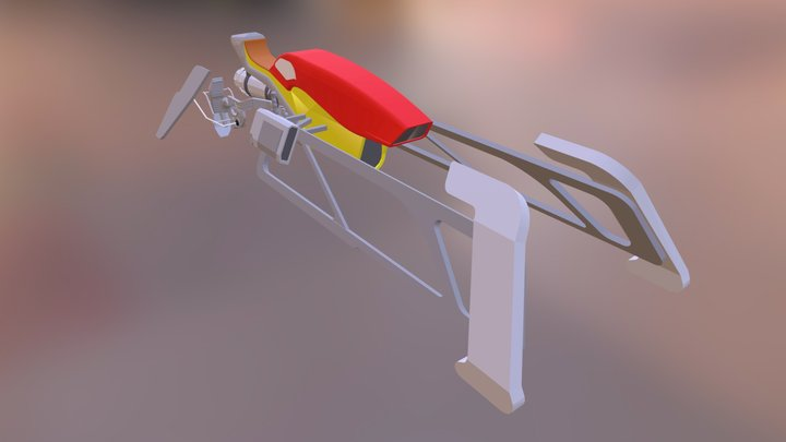Sparrow hoverbike (2) 3D Model