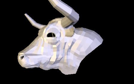 Stierkopf 2012 3D Model