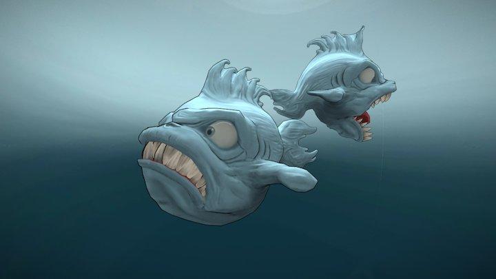 FISH, The big fish 3D Model
