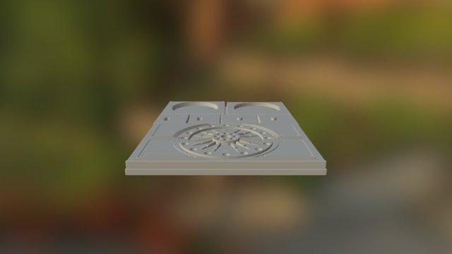 Sonix Radio Faceplate 3D Model