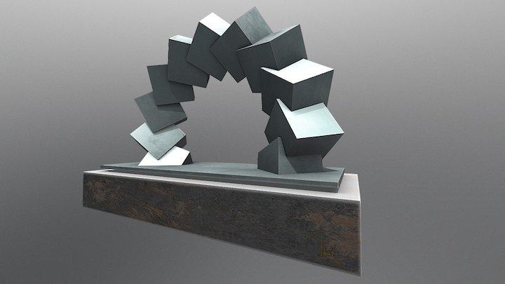 WürfelSkulptur 3D Model