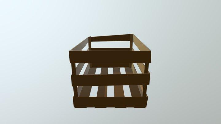 Huacal de madera 3D Model
