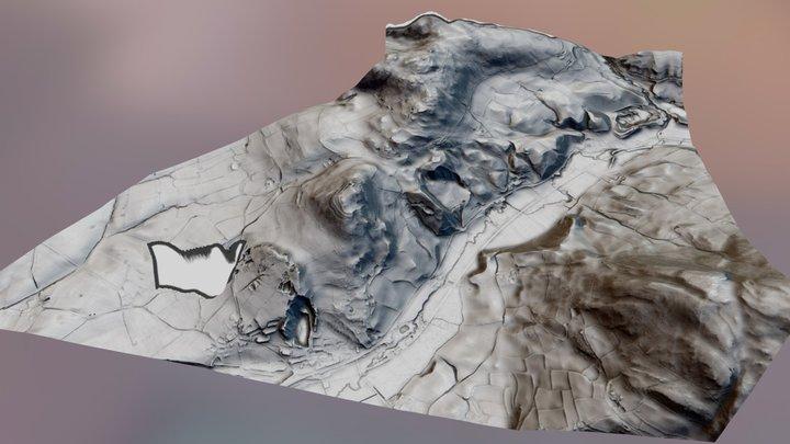Moel Y Gaer Hillfort; Wales 3D Model
