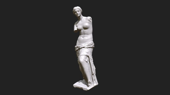 Venus de Milo #StatuesTexturingChallenge [SMK] 3D Model