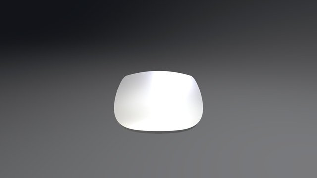 Apple Mouse 3D Model