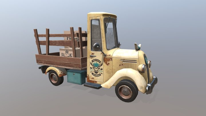 XYZ school Homework_18_Pickup 3D Model