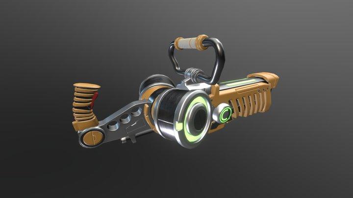 Energy Gun 3D Model
