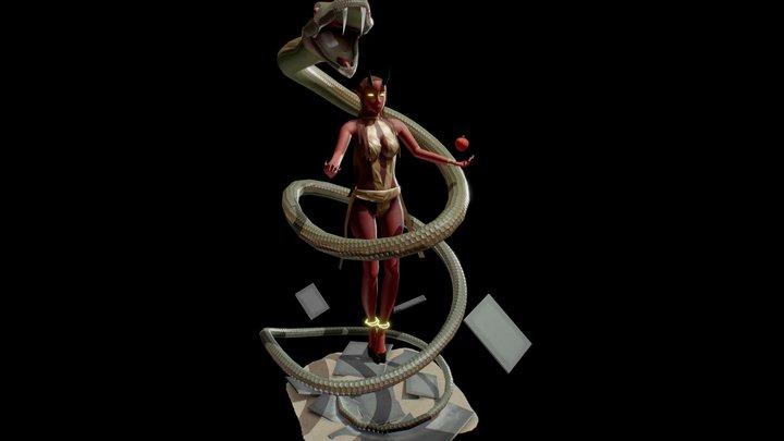 Avaricia 3D Model