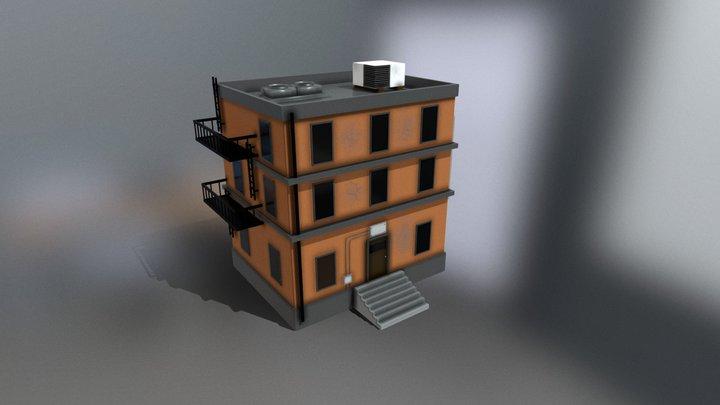 MG Building asset 3D Model