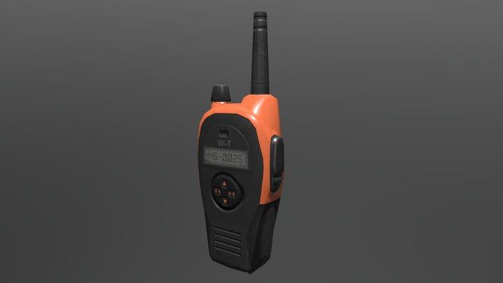 Walkie Talkie 3D Model