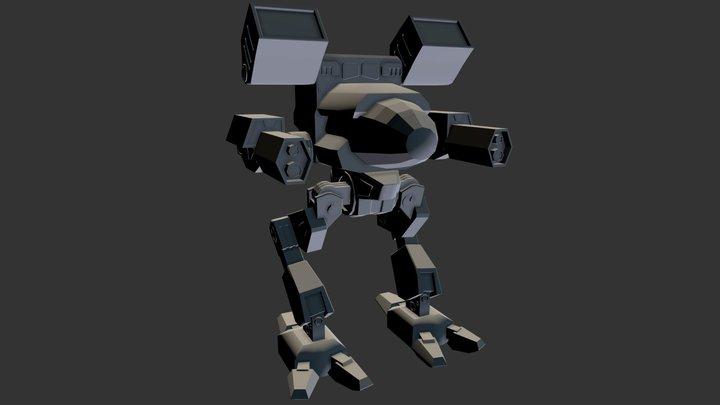 Mad Cat MKII 3D Model