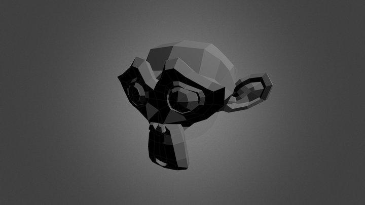 Suzanne Blender Monkey 3D Model
