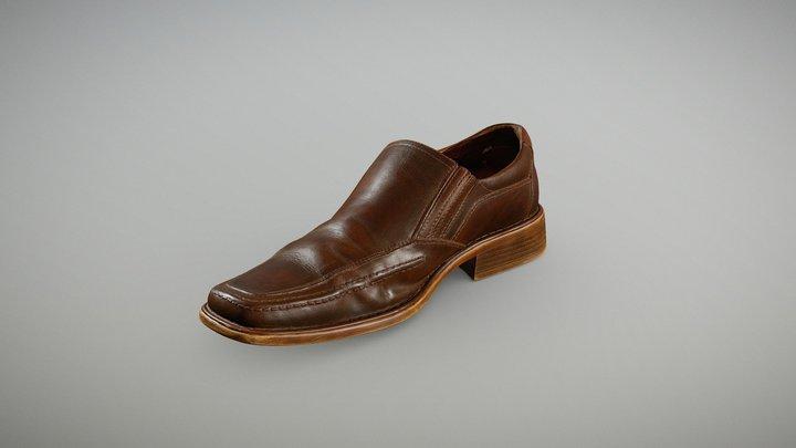 Old Oxford Shoe 3D Model