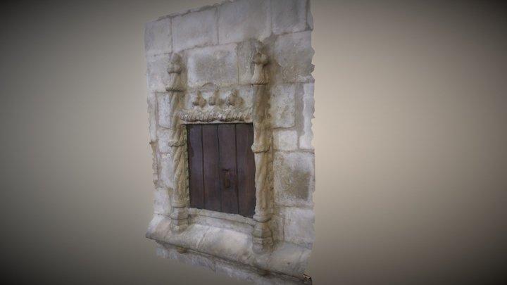 Edícula Manuelina - St.ª M.ª Castelo Lourinhã 3D Model