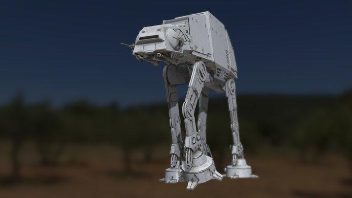Imperial ATAT 3D Model