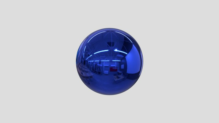 Sphere - duplicated version 3D Model