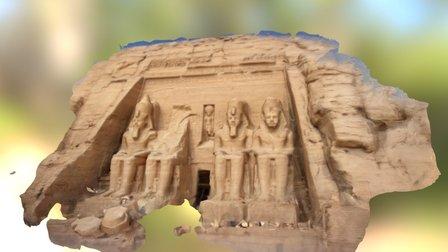 Abu Simbel 3D Model