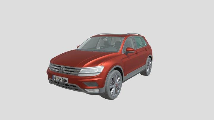 StickyLock VW Tiguan Model 3D Model