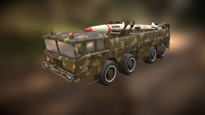Dongfeng - 11 (missile) 3D Model