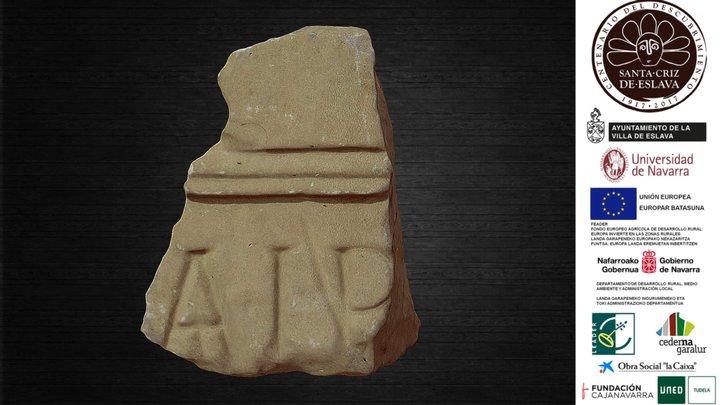 Sillar de monumento funerario, siglo I d. C. 3D Model