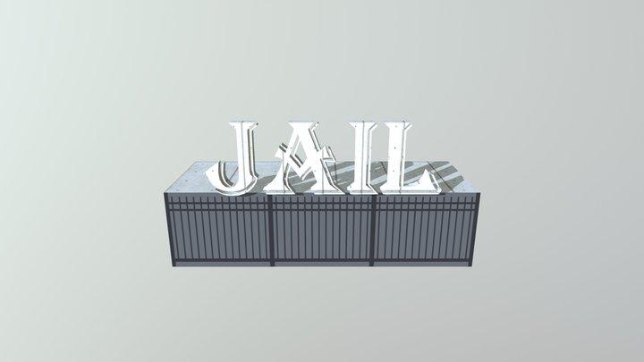 Jail 3D Model