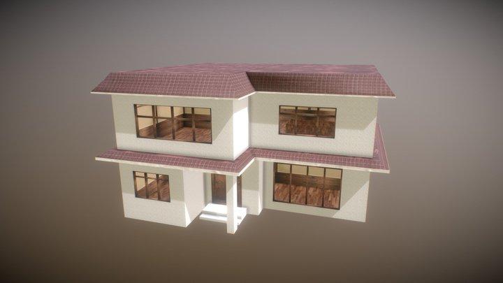 Anime house 3D Model