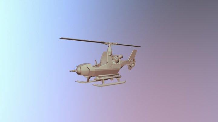 Cobra FANG Game Ready 3D Model