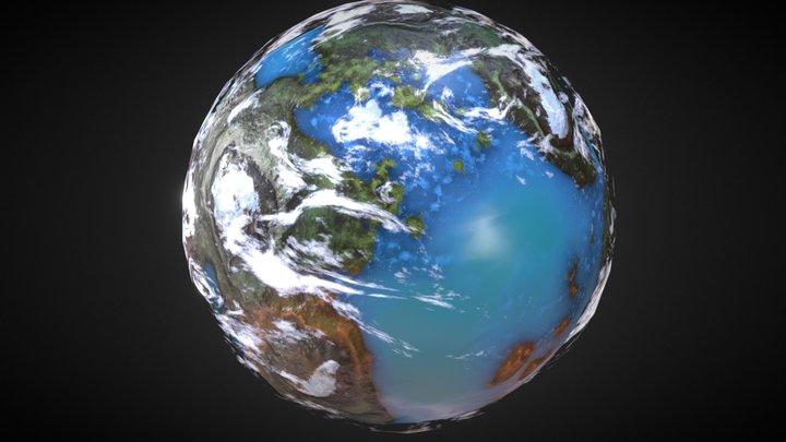 exoplanet 3D Model