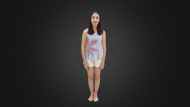 Olivia 3D Model