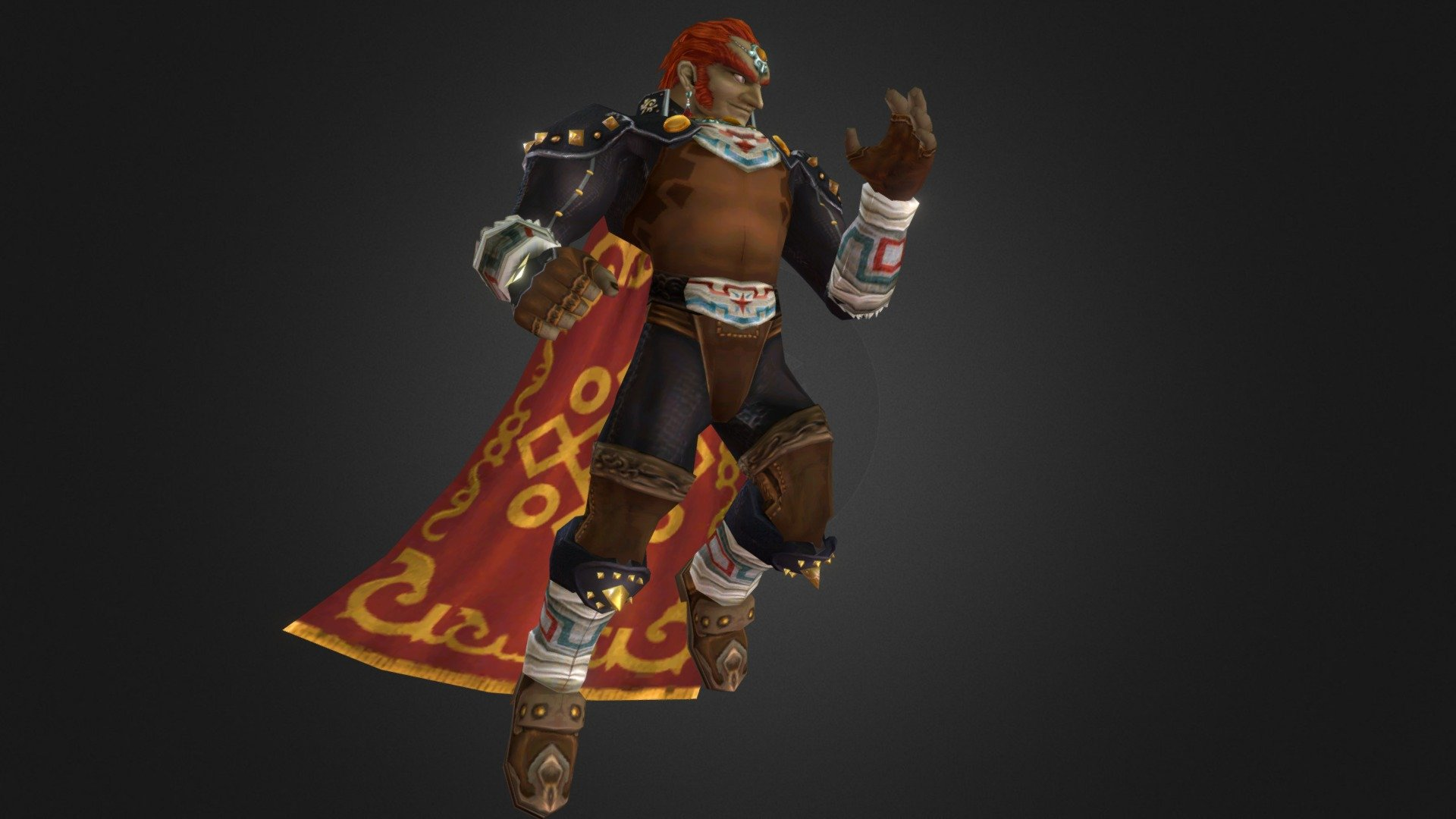 Ocarina Of Time Ganondorf Download Free 3d Model By