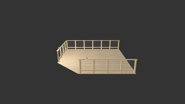 Porch 3D Model