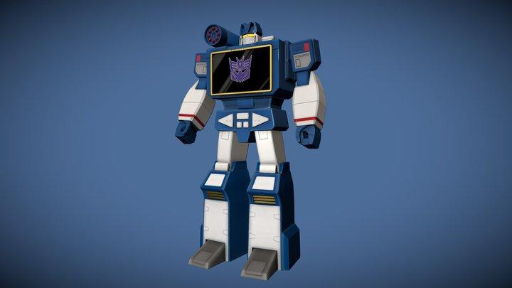 Soundwave 3D Model