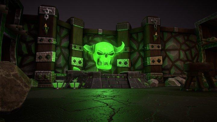Orc Alchemist Dungeon 3D Model