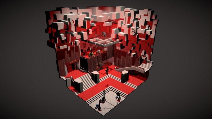 < Director Faden / Golden Executive > 3D Model