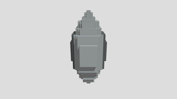 Monster Egg: Robot 3D Model