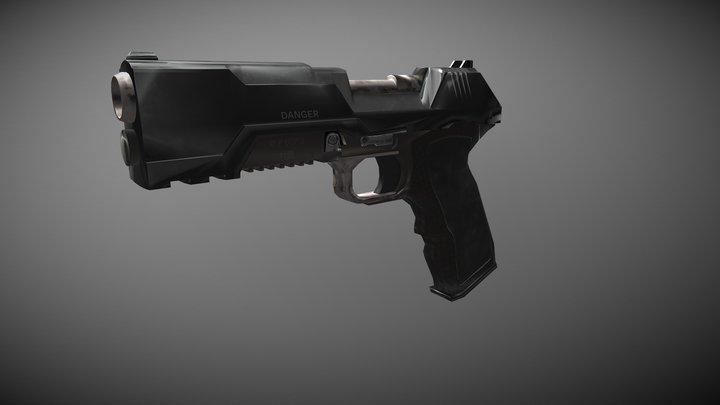 Gun01 3D Model
