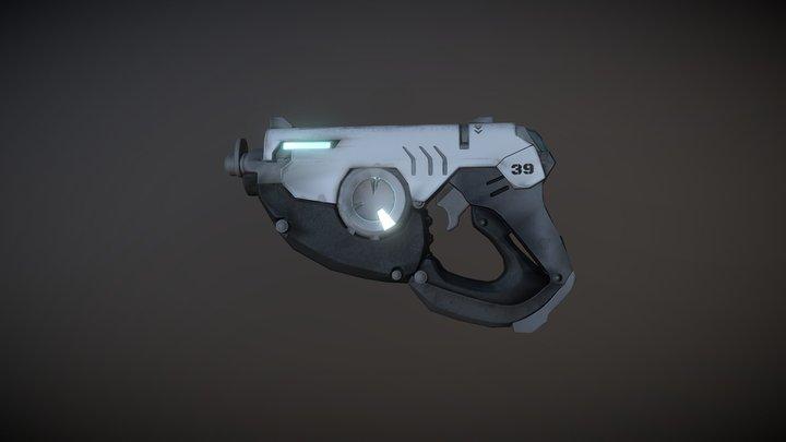 Tracer's Gun 3D Model