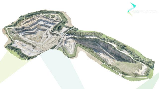 Quarry 3 [DEM] 3D Model