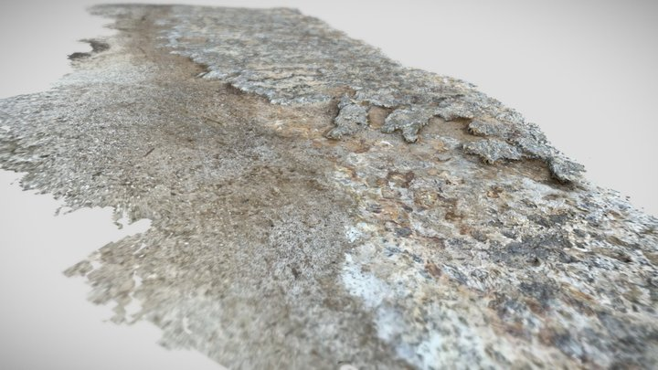 Scan of rocky costal cliffside 100FT / 30M long 3D Model