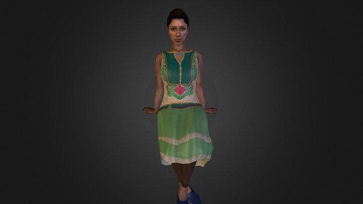 Elief character 3D Model