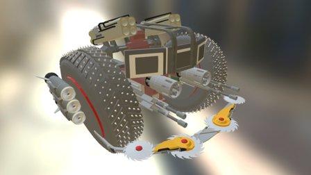 Axel armchair 3D Model