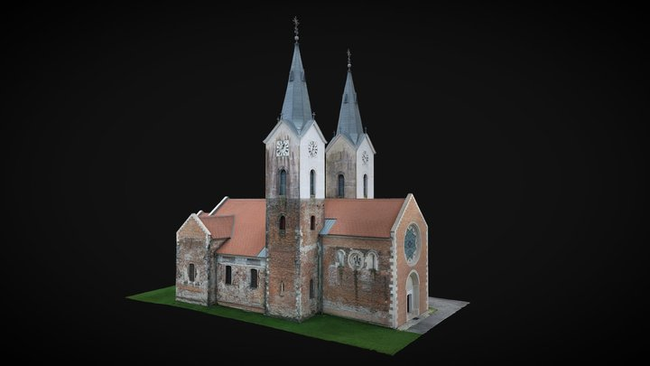 Parish Church of St. Mary Magdalene 3D Model