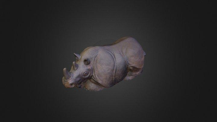 Rhino Model for 3D Printing 3D Model
